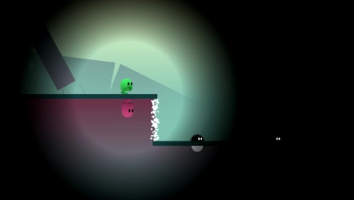 ibb and obb screenshot of a dark level