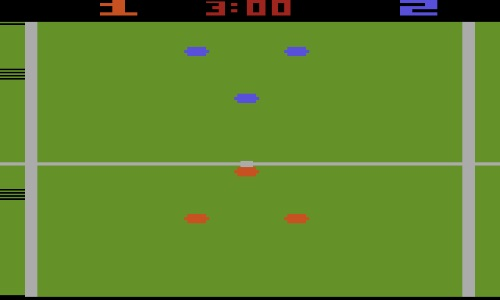 Old football videogame