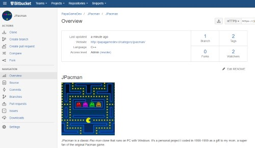 JPacman in Bitbucket